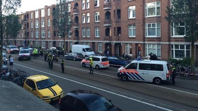 Grote politieactie in Amsterdam-West