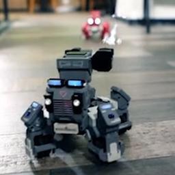 Video: Gamerobots vechten tegen elkaar in augmented reality