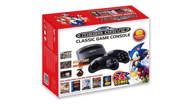 Sega komt met eigen mini Mega Drive-console en handheld