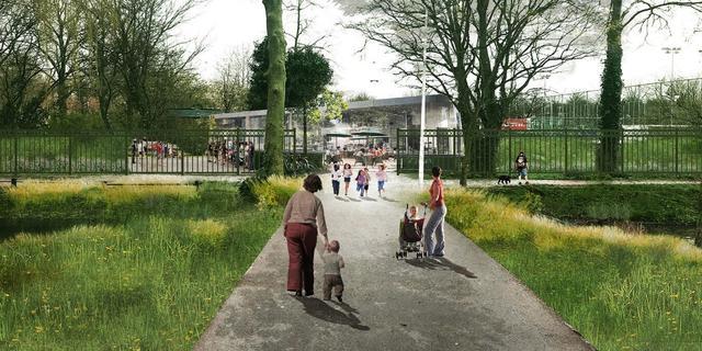Leiden verleent subsidies aan voor- en tegenstanders nieuwe Roomburgerpark
