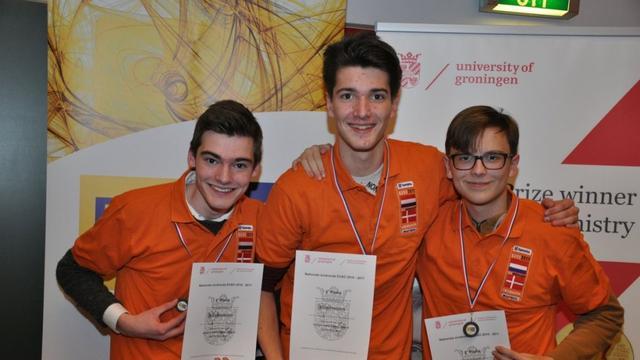 Team Stedelijk Gymnasium mag naar EUSO Kopenhagen