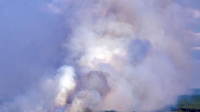 Vier dorpen in Duitsland geëvacueerd vanwege grote bosbrand
