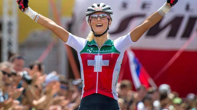 Zwitserse Neff wint EK mountainbike, Terpstra 26e