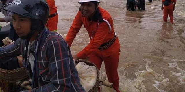 50.000 mensen geëvacueerd na dambreuk in Myanmar