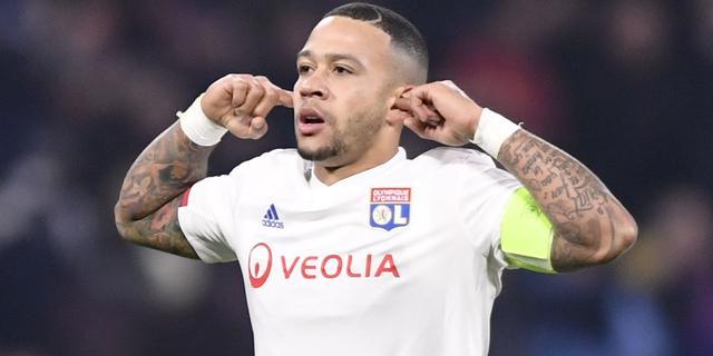 Memphis kan 31 juli rentree maken in opnieuw vastgestelde Franse bekerfinale