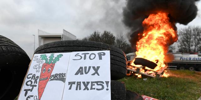 Franse regering bevriest geplande belastingverhoging op brandstof