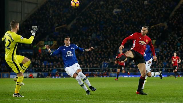 Koeman en Everton gelijk tegen United, Aké matchwinner tegen Liverpool