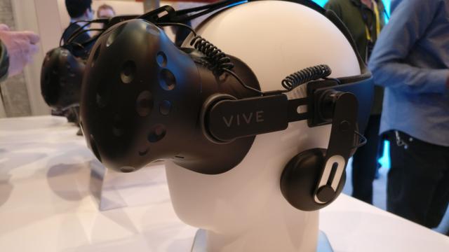 Nieuwe accessoire voor VR-bril Vive volgt beweging fysieke objecten