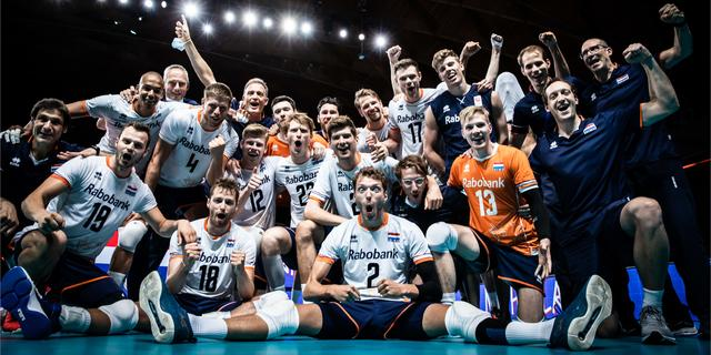 Volleyballers sluiten Nations League af met simpele overwinning