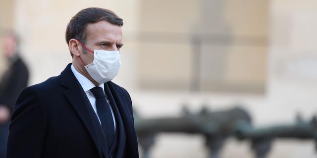 Frankrijk schorst agenten wegens geweld tegen zwarte man, Macron 'geschokt'