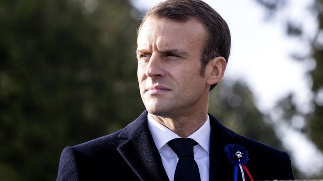 Macron: Als Britten Brexit-deal weer afwijzen betekent dat 'no deal-Brexit'