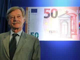 50-eurobiljet is het meest gebruikte bankbiljet