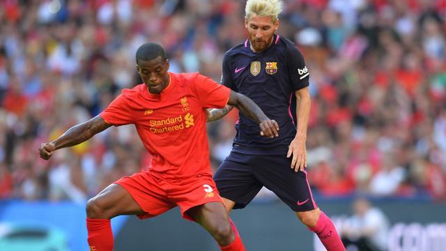 Wijnaldum en Liverpool verslaan Barcelona met 4-0 in oefenduel