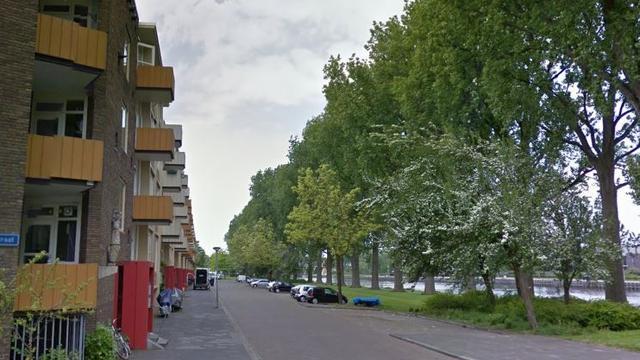 Balkon appartement Groningen naar beneden gevallen