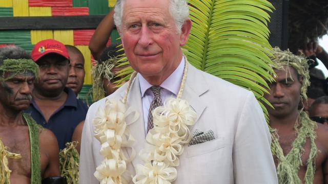 Prins Charles tot erelid benoemd van stam op eiland Vanuatu