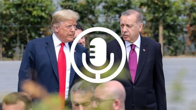 Politiek getouwtrek tussen Trump en Erdogan schaadt wereldeconomie
