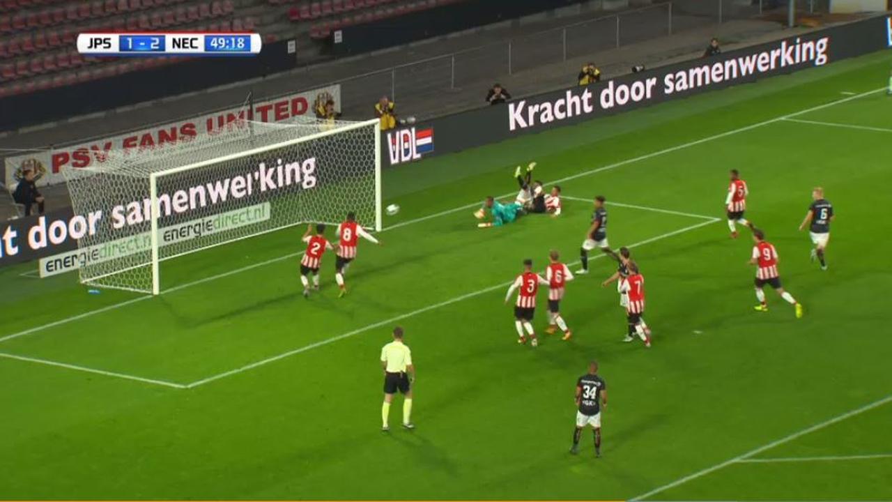 Samenvatting Jong PSV - N.E.C. (3-3)