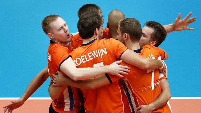 Volleyballers in tweede ronde WK tegen Italië, Rusland en Finland