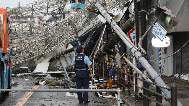 Zeker zes personen omgekomen door tyfoon in Japan