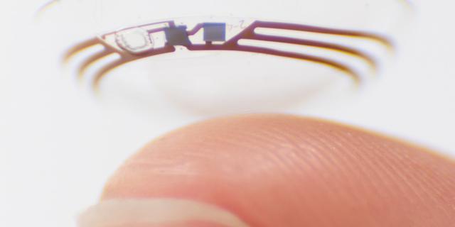 Google-zusterbedrijf stopt onderzoek naar contactlens die glucose meet