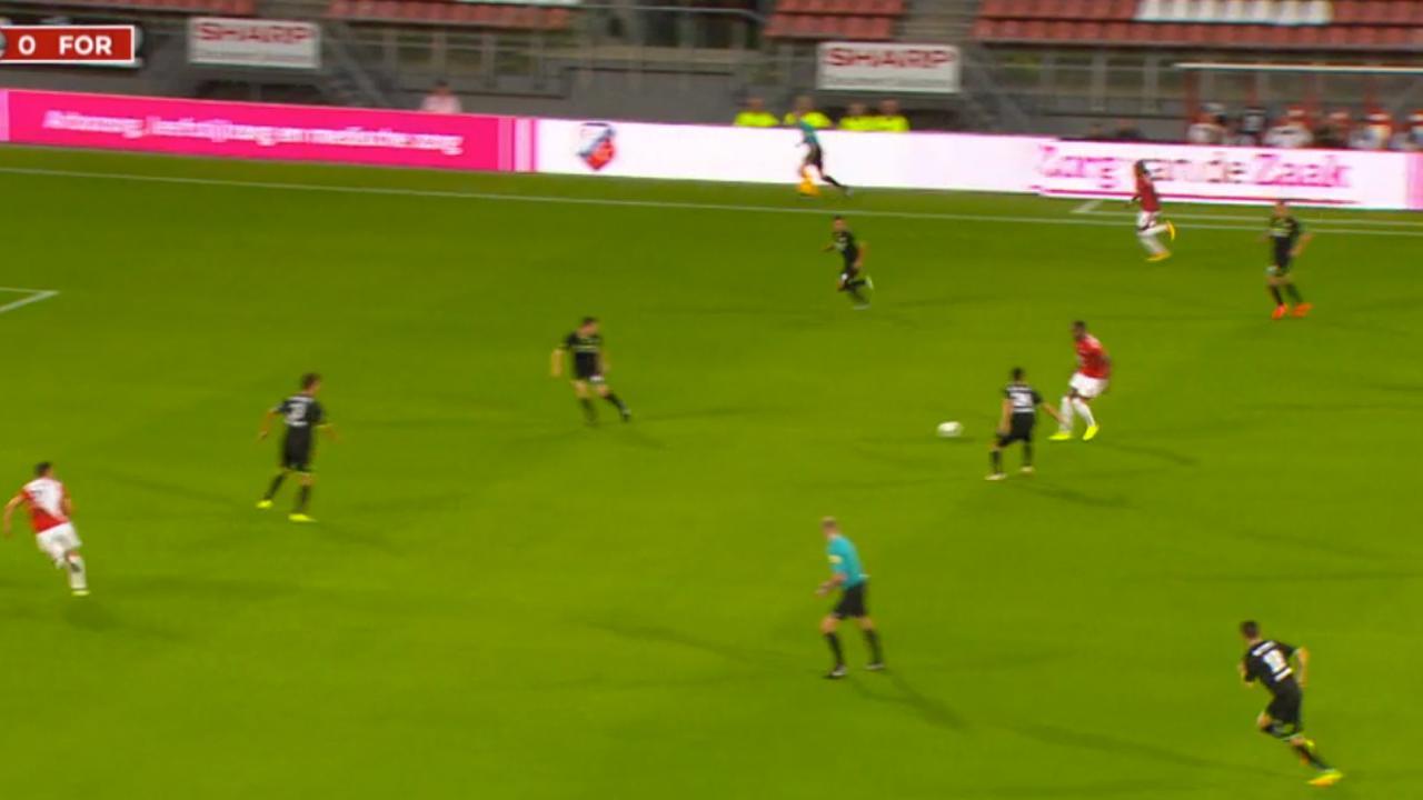 Samenvatting Jong Utrecht-Fortuna Sittard