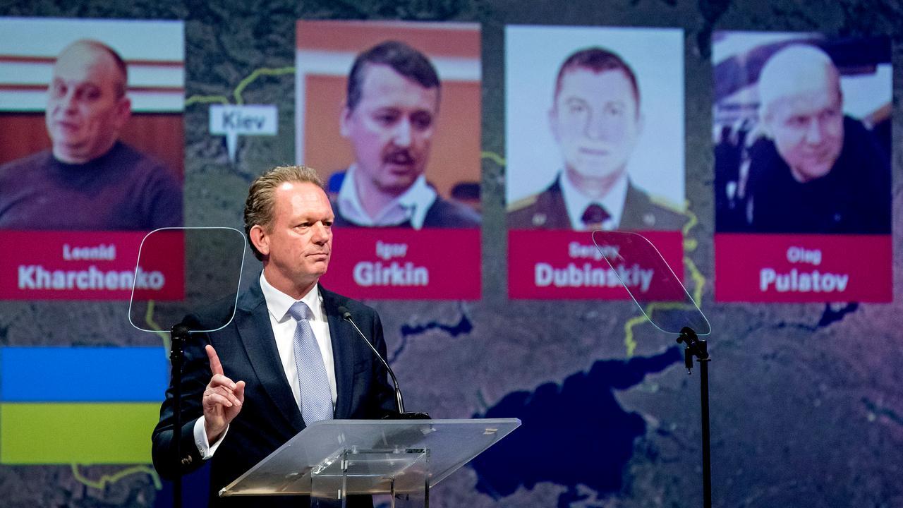 Onderzoeksteam toont gezichten van vier verdachten MH17-ramp