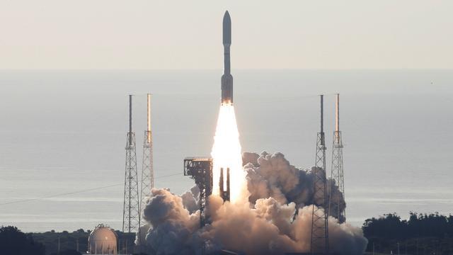 Amerikaanse raket is naar Mars vertrokken