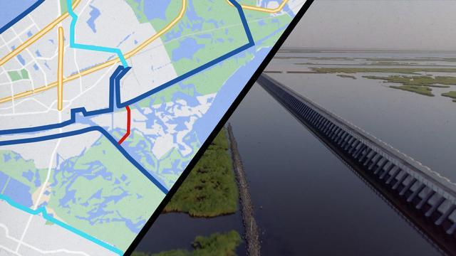 Hoe 'Nederlands' bouwwerk New Orleans droog hield van orkaan Ida