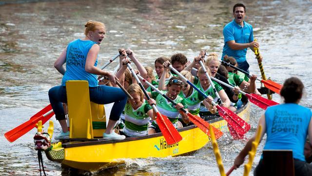 Drakenbootrace keert terug in Bergen op Zoom