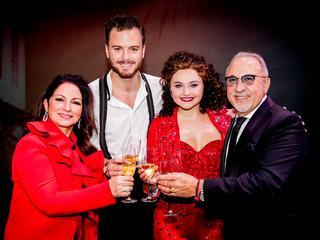 Latin-showbizzpaar was aanwezig bij Nederlandse première in Utrecht