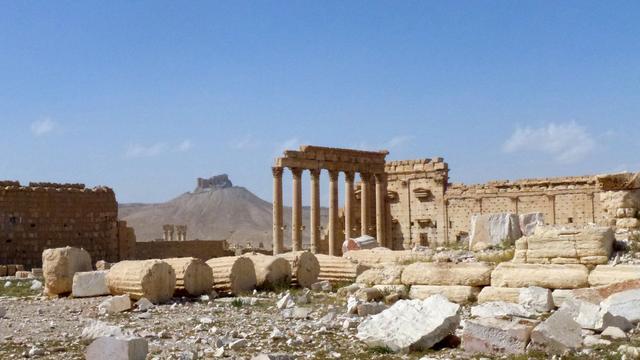 Russische mijnexperts aangekomen in Palmyra