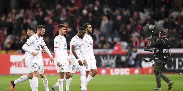 Lyon grijpt voorlopig naast Europees voetbal na verlies rechtszaak