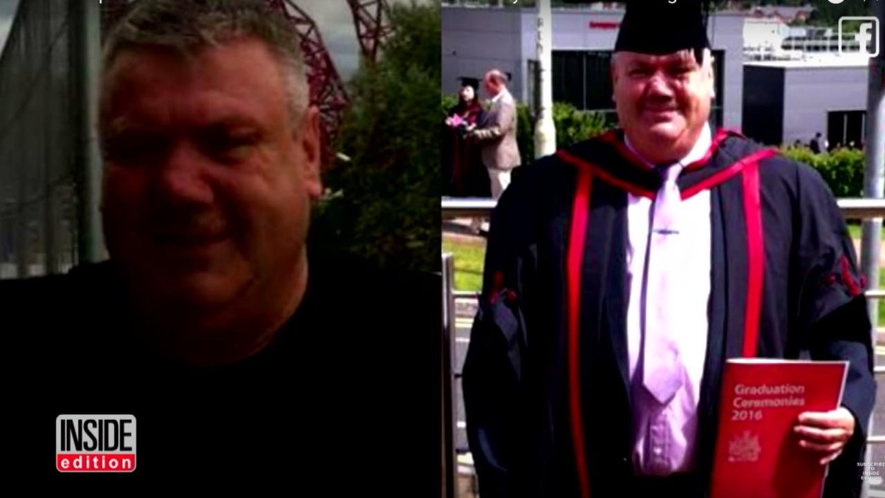 Dakloze man studeert af aan universiteit van South Wales