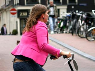 48 procent pakte de fiets in 2016