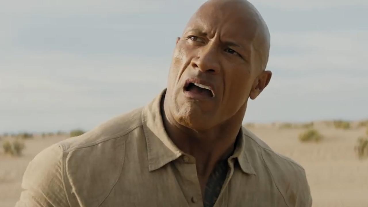 Dwayne Johnson in gevaar in trailer derde Jumanji-film
