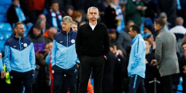 Mourinho: 'Alleen leken analyseren City-United op basis van statistieken'