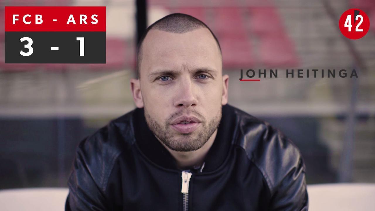 2x45 seconden: Dit voorspellen Heitinga en Waterreus over Bayern - Arsenal