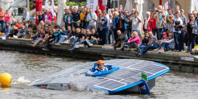 Zonneboten racen dit weekend door Groningen