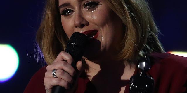 Adele uitgeroepen tot beste vrouwelijk artiest bij Brit Awards