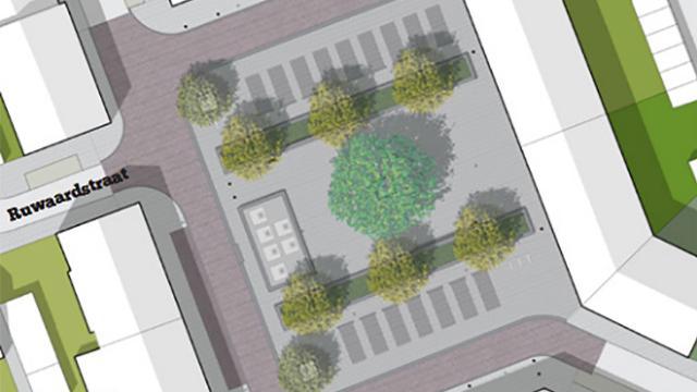 Herinrichting Oranje Nassauplein komende week van start