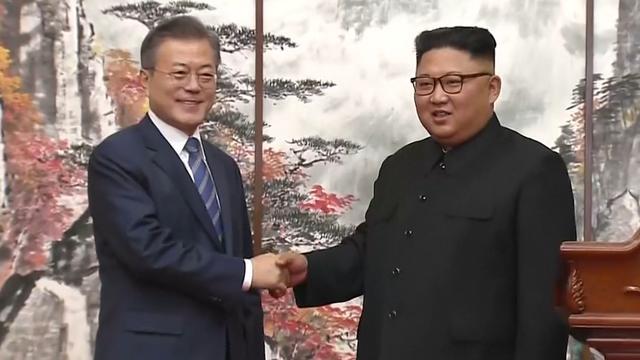 Noord- en Zuid-Korea beloven kernwapenvrij schiereiland