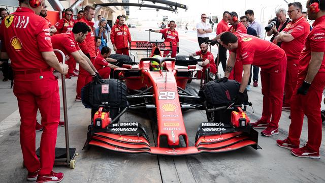 Mick Schumacher Makes His Debut For Ferrari At F1 Test In Bahrain