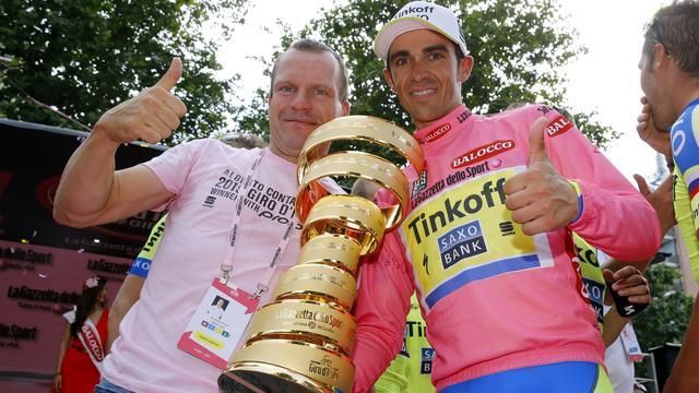 Ploegleider De Jongh heeft 'de beste Contador' nog niet gezien