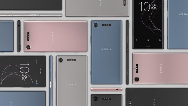 Sony kondigt nieuwe Xperia-telefoons met 3D-gezichtsfunctie aan