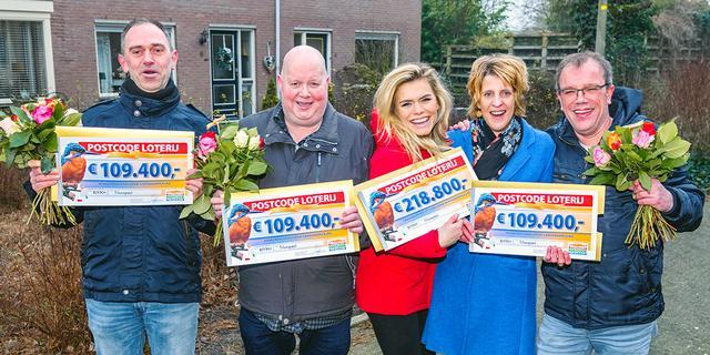 Ontvang gegarandeerd 15 euro bij de Postcode Loterij