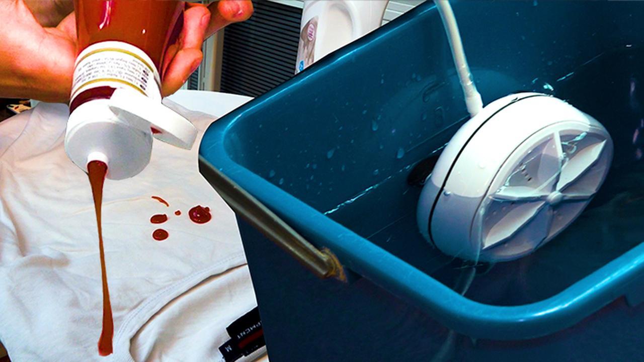Prul of Praal? Krijgt deze reiswasmachine je kleding schoon?