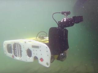 FBI en Amerikaans leger testen onderwaterrobot