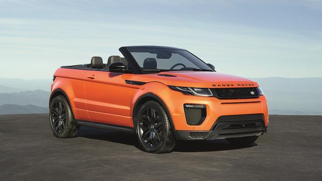 Land Rover presenteert Range Rover Evoque Convertible