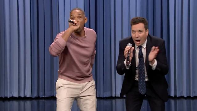 Will Smith zingt medley van bekendste sitcom-intro's