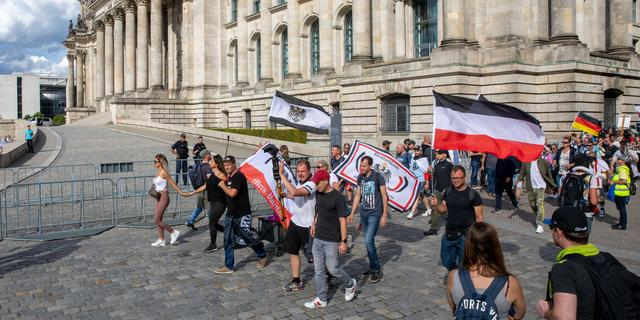 Duitse president noemt bestorming Reichstag 'aanval op hart democratie'